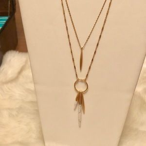 Stella & Dot Quill Layering Necklace